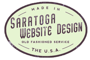 Green Saratoga Website Design Logo
