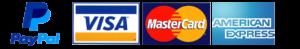PayPal Visa Mastercard Amex